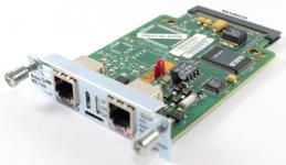 1 портовый аналоговый модем, для Cisco Routers Таблица модулей Cisco (Router module) Производитель: Cisco