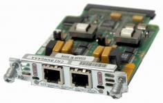 Модуль формата VIC (Voice Interface Card) для маршрутизаторов Cisco 1750, 1751, 1760 или модулей NM-2V. Используется для связи маршрутизатора с внешней телефонной системой