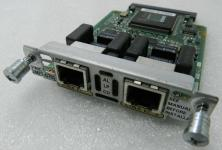 Описание: Одно- и двухпортовые интерфейсные карты E1 Multi-flex Vioce/WAN (Multiflex VWIC) поддерживают функцию голосового трафика и передачу данных, а также интегрированный (голос/данные) трафик