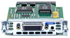 Модуль формата WIC (WAN Interface Card) для маршрутизаторов Cisco 1600, 1700, 2500, 2600, 3600, 3700 серий на 1 последовательный порта с разъемом Serial DB-60 для интерфейсов V