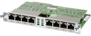 Cisco EHWIC-D-8ESG используется в маршрутизаторах Cisco ISR второго поколения (ISR G2) серий 19xx, 29xx и 39xx. В зависимости от маршрутизатора изменяется и количество поддерживаемых модулем виртуальных частных сетей – от 16 для Cisco 1900 до 64 для Cisco 3945