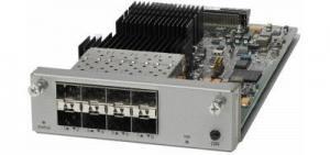 Модуль Cisco C4KX-NM-8SFP+ 8 портов 10 GE (SFP+/SFP), для коммутаторов Cisco 4500-X. Производитель: Cisco