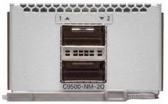 Модуль Cisco Catalyst C9500-NM-2Q (2 порта 40GE QSFP+) для коммутаторов Cisco Catalyst C9500 (C9500-40X и C9500-16X)