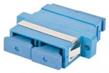 Адаптер (оптическая розетка) SNR-ADP-SC-DPX SM предназначен для соединения оптических шнуров с разъемом SC, типом полировки UPC. Корпус адаптера выполнен из пластика