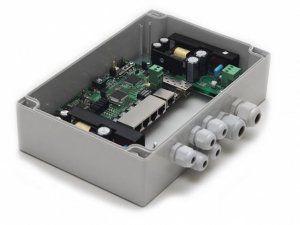 TFortis PSW-1G4F - PoE-коммутатор уличный управляемый/неуправляемый, 4*802.3af/Passive PoE 10/100Base-Tx, 1*10/100/1000Base-T, 1*SFP 100/1000Base-X