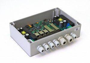 TFortis PSW-2G - PoE-коммутатор уличный, 3*802.3af/Passive PoE, 2*SFP 1000Base-X