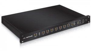 Описание Ubiquiti EdgeRouter Pro Прямой поток трафика: - интерфейсы: каждый гигабитный порт работает как независимый интерфейс. Также можно настроить интерфейсы Virtual Area Network (VLAN) для Ваших потребностей по сегментированию сети