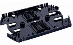 Сплайс-кассета универсальная FT-U-16 устанавливается в оптические кроссы и предназначена для фиксации и защиты термоусадочных гильз КДЗС. Конструкция кассеты позволяет размещать до 32 гильз КДЗС 40/45/60 мм (по 16шт в два ряда), а также оставлять запас оптических волокон