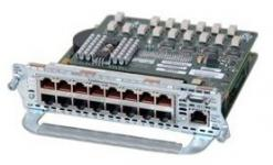 Модуль для маршрутизаторов Cisco 2600, 2800, 3700, 3800 c 16 FastEthernet-интерфейсами и поддержкой PoE. Поддержка PoEвозможна при установке блока питания