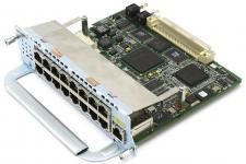 16 портов 10/100BaseTX, 1 порт 10/100/1000BaseT для Cisco Routers. Таблица модулей Cisco (Router module) Описание на сайте производителя Производитель:Cisco