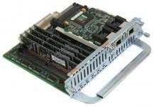 Модуль формата NM (Network Module) для маршрутизаторов Cisco серий 2600 и 3600 на 60 голосовых соединений. Модуль NM-HDV-2E1-60 использует встроенныйVWIC-2MFT-E1-DIдля соединения с двумя линиями E1 и 5Packet Voice DSP Module (PVDM)-12