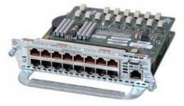 Модуль для маршрутизаторов Cisco 2600, 3600, 2800, 3700, 3800 c 16 портами 10/100BaseTX, 1 порт 1000BaseT. Таблица модулей Cisco (Router module) Производитель: Cisco