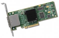 HBA-адаптер LSI SAS 9200-8eобеспечивает работу больших массивов данных благодаря высокоскоростным 6Гбит/спортам.Хост-адаптер поддерживаетдо 512 дисковых накопителей SASи SATA