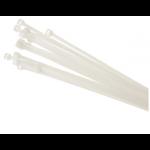 Хомуты NCT-100/WH предназначены для увязки в пучок и монтажа кабелей и проводников. Изготовлены из негорючего нейлона Стойкость к органическим растворителям,