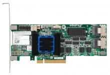RAID-контроллер Adaptec ASR-6805T - Unified Serial SAS 2.0, порты со скоростью передачи данных 6Гб/с, низкопрофильная планка, интерфейс PCI-Express (PCIe) Gen 2, функции Zero-Maintenance Cache Protection и Intelligent Power Management