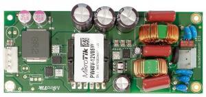 Описание MikroTik PW48-12V85W Бескорпусный блок питания для маршрутизаторовCCRобновлённой ревизии (с отметкой r2 в конце серийного номера). На данный момент этоCCR1036-8G-2S+иCCR1036-8G-2S+EM