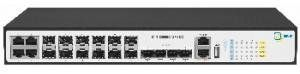 Коммутатор SNR-S2995G-12FX-DC входит в линейку управляемых L3 коммутаторов SNR, предназначен для использования на уровне агрегации в сетях операторов связи и корпоративных клиентов