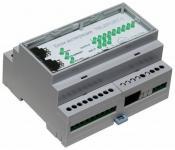 TFortis TELEPORT-1 - Блок трансляции датчиков вскрытия коммутаторов PSW в охранную систему. Исполнение для помещений 10/100Base-Tx RJ-45 RS-485 Входы – 3 шт. Выходы – 9 шт.