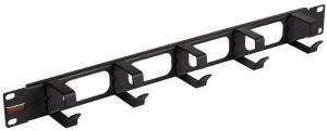 Описание Кабельные органайзеры предназначены для укладки избыточной длины коммутационных или аппаратных шнуров, что позволяет упорядочить их размещение, избежать петель и обеспечить хорошую видимость элементов маркировки