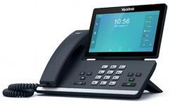 Yealink SIP-T58A — IP-телефон под управлением ОС Android 5.1.1с цветным 7 LCD-экраном с touch-screen, отличающийся от Yealink SIP-T58V отсутствием USB-камеры Yealink CAM50 в комплекте