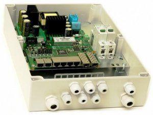 TFortis PSW-2G6F+ - PoE-коммутатор уличный управляемый, 6*802.3af/at 10/100Base-Tx, 2*SFP 1000Base-X, 160Вт