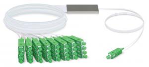 Ubiquiti UFiber Splitter 32 (UF-SPLITTER-32) - Сплиттер оптический 32х SC/APC купить в Казани Описание Ubiquiti UFiber Splitter 32Ubiquiti предлагает 4 модели PLC-сплиттеров, которые обеспеч