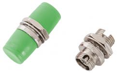 NIKOMAX NMF-OA1SM-FCA-FCA-2 - уп-ка 2шт., адаптер волоконно-оптический, соединительный, одномодовый, FC/APC-FC/APC, одинарный, латунный, тип D, металлик купить в Казани Описание:Оптические адаптеры предназначены для соединения коммутационных шнуров и кабелей, оконцов