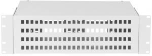 """NIKOMAX NMF-RP96SC-WS-ES-3U-GY - Оптический кросс 19"""", 3U, до 96 SC портов или 192 LC портов, стальной, серый, неукомплектованный купить в Казани Описание:Оптические кроссы предназначены для коммутации оптических волокон, в частности для созд"""