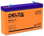 Delta HR 6-7.2 -  - Аккумуляторная батарея для ИБП, AGM, 7.2Ач, 6В