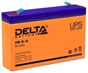 Delta HR 6-9 - Аккумуляторная батарея для ИБП, AGM, 9Ач, 6В
