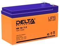 Delta HR 12-7.2 - Аккумуляторная батарея для ИБП, AGM, 7.2Ач, 12В