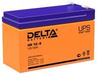 Delta HR 12-9 - Аккумуляторная батарея для ИБП, AGM, 9Ач, 12В