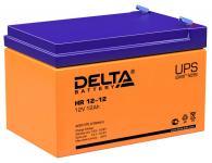 Delta HR 12-12 - Аккумуляторная батарея для ИБП, AGM, 12Ач, 12В