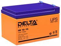 Delta HR 12-15 - Аккумуляторная батарея для ИБП, AGM, 15Ач, 12В