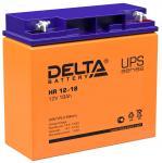 Delta HR 12-18 - Аккумуляторная батарея для ИБП, AGM, 18Ач, 12В