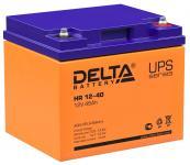 Delta HR 12-40 - Аккумуляторная батарея для ИБП, AGM, 40Ач, 12В