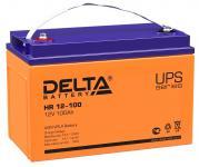 Delta HR 12-100 - Аккумуляторная батарея для ИБП, AGM, 100Ач, 12В