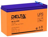 Delta HR 12-24 W - Аккумуляторная батарея для ИБП, AGM, 6Ач, 12В