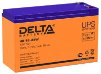 Delta HR 12-28 W - Аккумуляторная батарея для ИБП, AGM, 7Ач, 12В