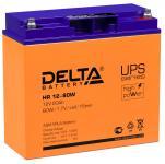 Delta HR 12-80 W - Аккумуляторная батарея для ИБП, AGM, 20Ач, 12В