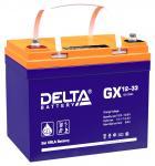 Delta GX 12-33 - Аккумуляторная батарея, AGM+GEL, 33Ач, 12В