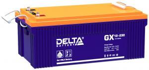 Delta GX 12-230 - Аккумуляторная батарея, AGM+GEL, 230Ач, 12В