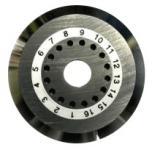 Fujikura CB-16 - Оригинальное лезвие (колесо) для скалывателей Fujikura CT-20 / CT-30 / СТ-30A / CT-30C / НСТ-20, Jilong KL-21C, SNR-FC-09 купить в Казани Нож (лезвие) является одним из главных компонентов скалывателя любой модели, так как от его ре