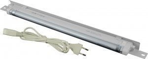 Блок освещения 19, 1U, Г35мм (TLK-LAMP01)Блок освещения предназначен для местного освещения оборудования в шкафах или стойках. В блоке используется люминесцентная лампа мощностью 12Вт, световой поток превышает световой поток лампы накаливания мощностью в 80Вт