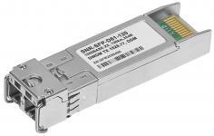 SNR-SFP-D61-120 -  Двухволоконный модуль, SFP 1.25G DWDM, разъем duplex LC, рабочая длина волны 1528.77нм, дальность до 120км (32dB). купить в Казани Двухволоконный оптический DWDM модуль с форм-фактором SFP для 1G Ethernet, соответствует стандарту