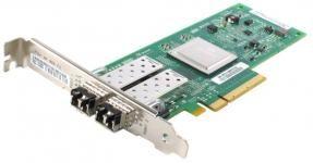 QLogic QLE2562-CK - 64-Bit PCI-to-FC HBA Fiber Channel Card 2 порта Fiber Channel 8Gb купить в Казани В комплекте модули Fiber Channel 8Gb - 2шт (Multi-Mode)Адаптеры QLogic® серии 2500 предн