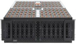 """SNR-DS102 -  Дисковая полка для сервера, на 102 диска 3.5"""" HGST 12TB, 2 модуля IO, 2 БП, 4 FAN, комплект крепления в стойку купить в Казани Дисковая полка является ключевым элементом дезагрегированных систем хранения данных. Обеспечивает в"""