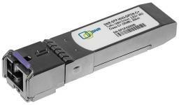 SNR-SFP-W43-GPON-C++ -  Одноволоконный модуль, SFP WDM GPON, Down/Upstream: 2.5G/1.25G, разъем SC, рабочая длина волны Tx/Rx: 1490/1310нм, дальность до 20км (37dB). купить в Казани 2.5/1.25 гигабитный WDM модуль с форм-фактором SFP. Предназначен для работы в GPON OLT, class C++.&