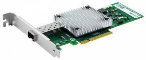 SNR-E1P10GS -  Сетевая карта 1 порт 1000Base-X/10GBase-X (SFP+) аналог карты Intel X520-DA1 купить в Казани Универсальный серверный сетевой адаптер предназначен для организации высокоскоростного подключени