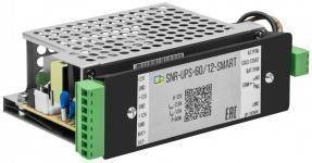 SNR-UPS-60/12-SMART(RPS14) - Устройство бесперебойного питания RPS с выходом 12В/60Вт, с функцией мониторинга и холодного старта (RPS14) купить в Казани Источник бесперебойного питания AC-DC с функцией резервирования UPS и дополнительным функционалом м